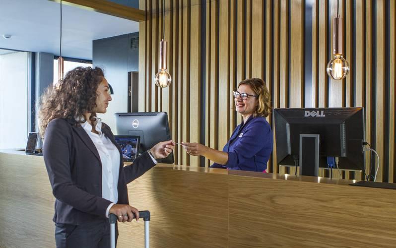 Recepción Hotel Cap Negret Altea, Alicante