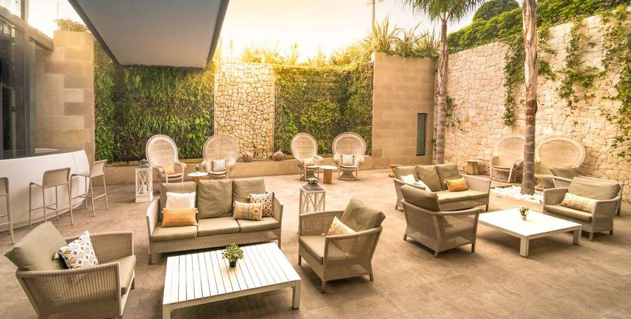 TERRAZA CHILL OUT PATIO RIU ALGAR Hotel Cap Negret Altea, Alicante